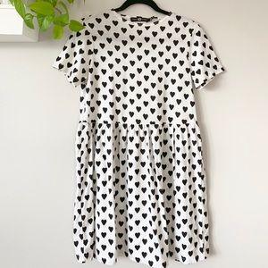 ASOS Babydoll heart dress